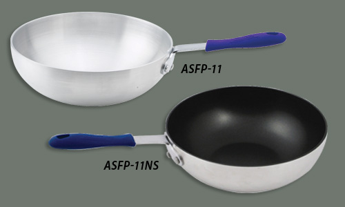 Heavyduty Non-stick Stir Fry Pan with Natural Finish