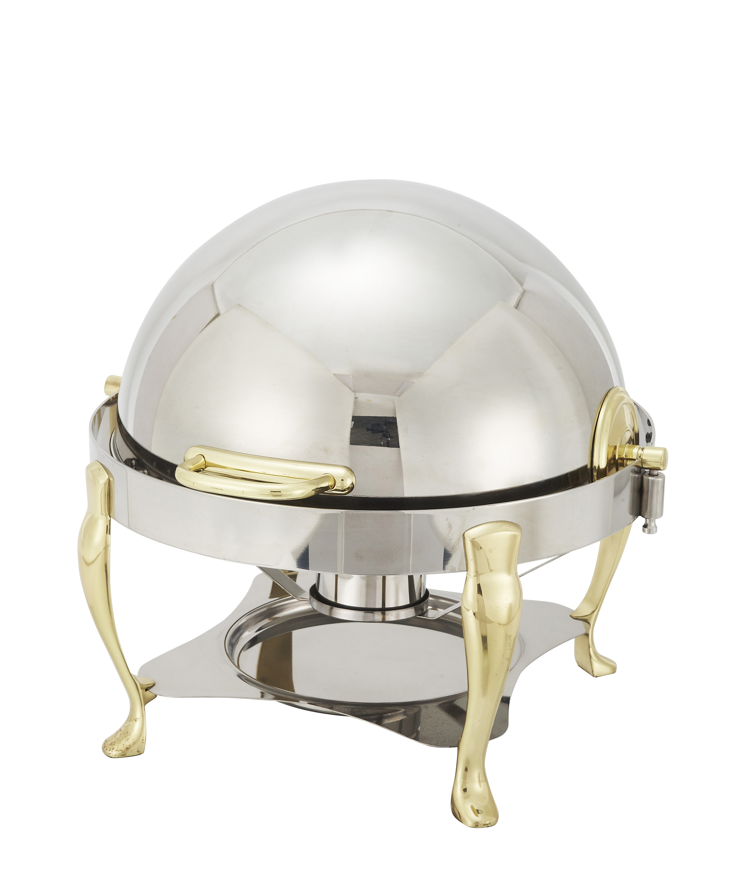 6 Qt, Roll Top Chafer, Round
