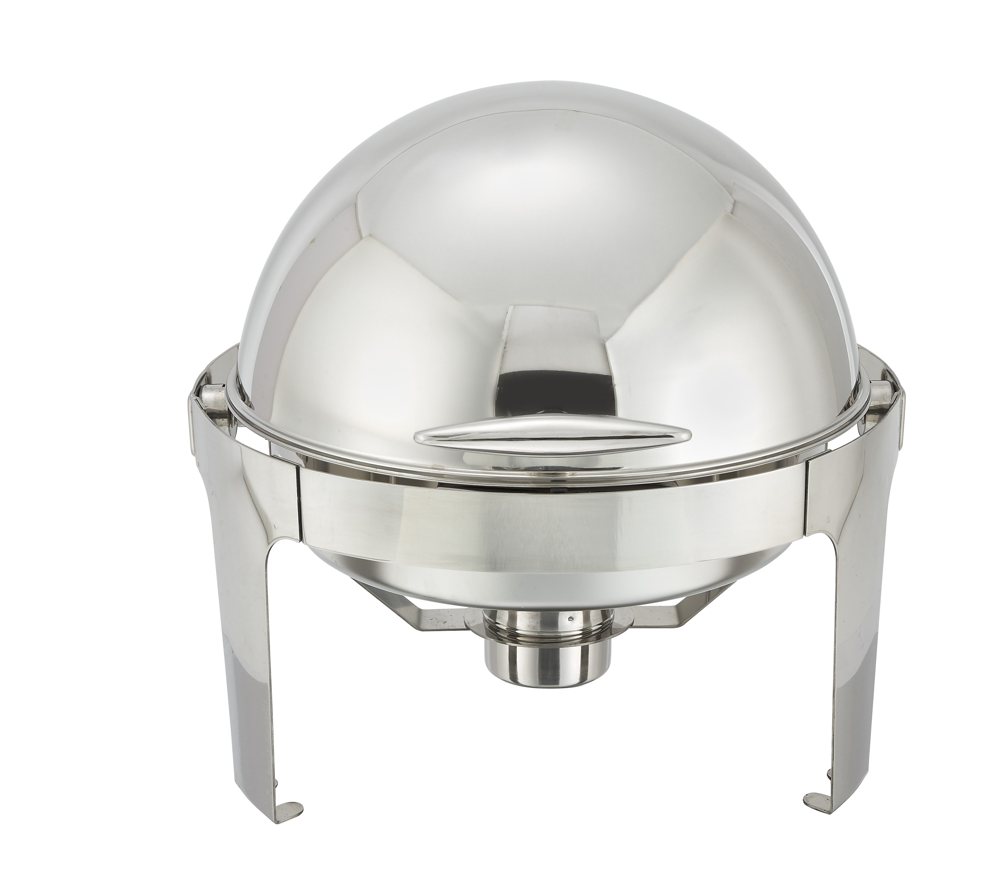 6 Qt, Round Roll Top Chafer
