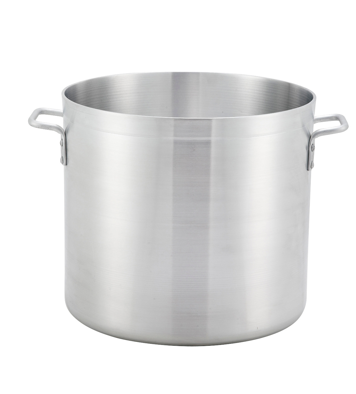 Aluminum Stock Pot 24 Qt, 4.0 MM, 12.6