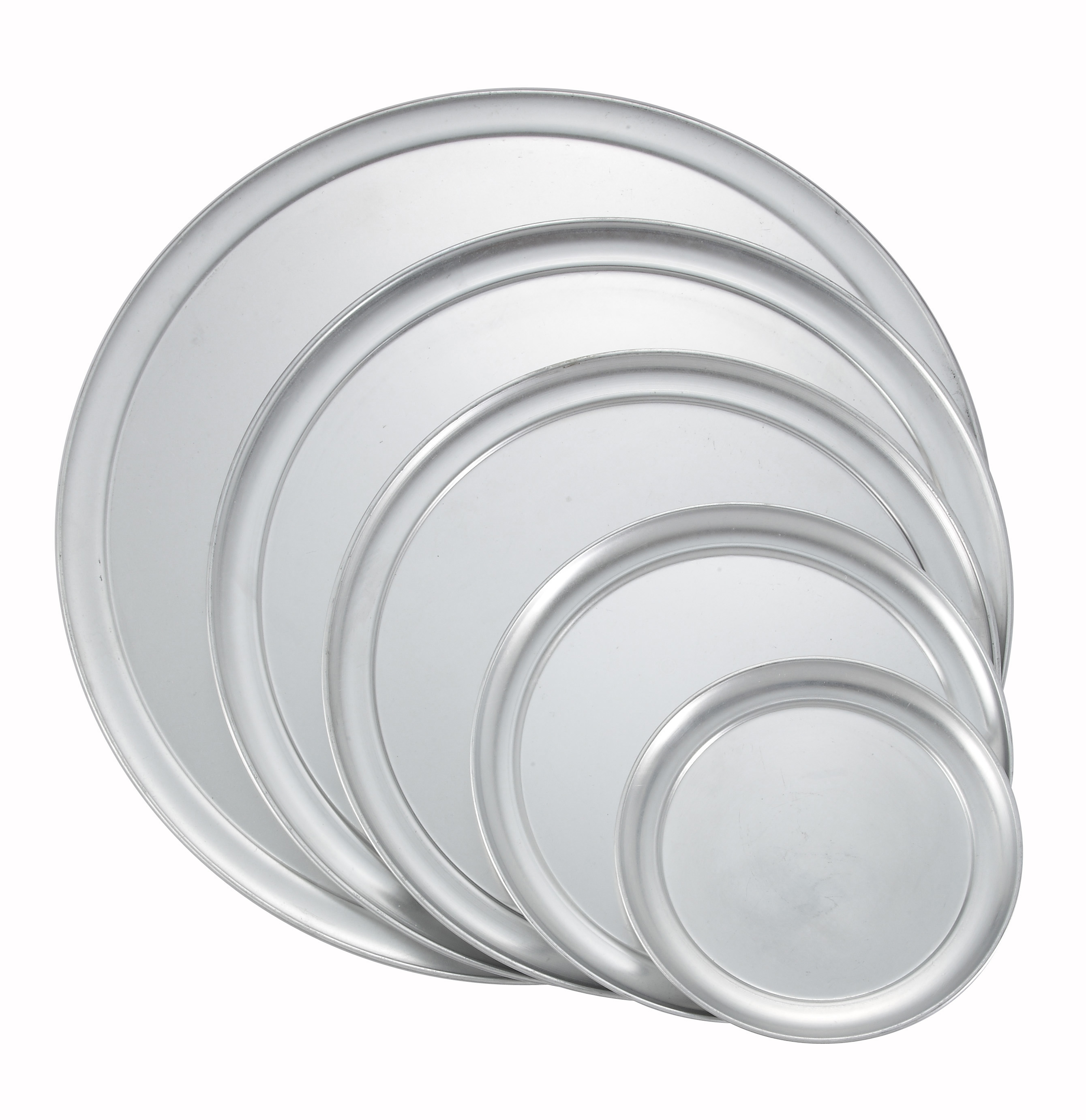 "11"" Aluminum Pizza Tray (Wide Rim)"