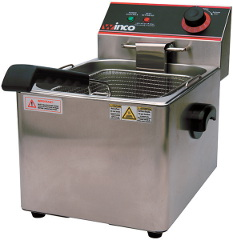 Electric Deep Fryer, Single Well, 16 lbs. Oil Capacity