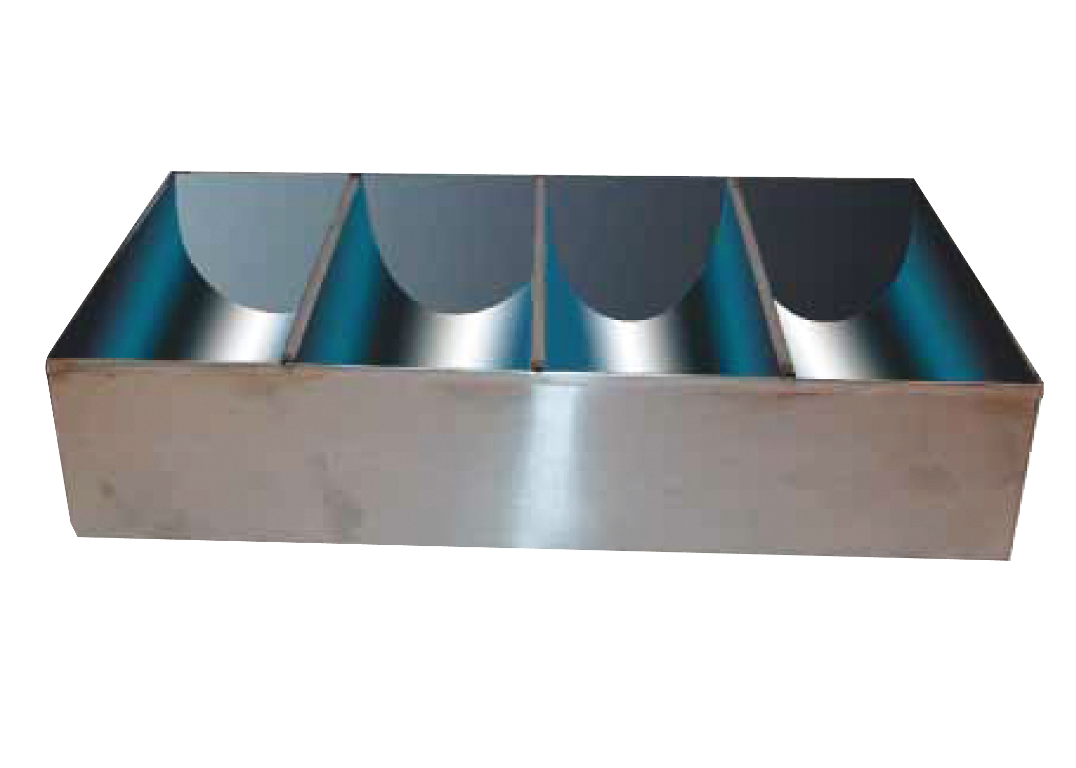 4 Compartment S/S Cutlery Bin