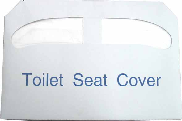 Half Hold, Toilet Seat Cover Paper 250 Pcs/Bag